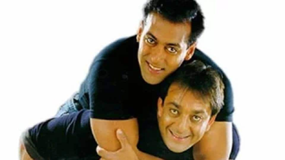 Salman Khan and Sanjay Dutt's Off And On Rivalry Is Nothing Short Of A Film Script