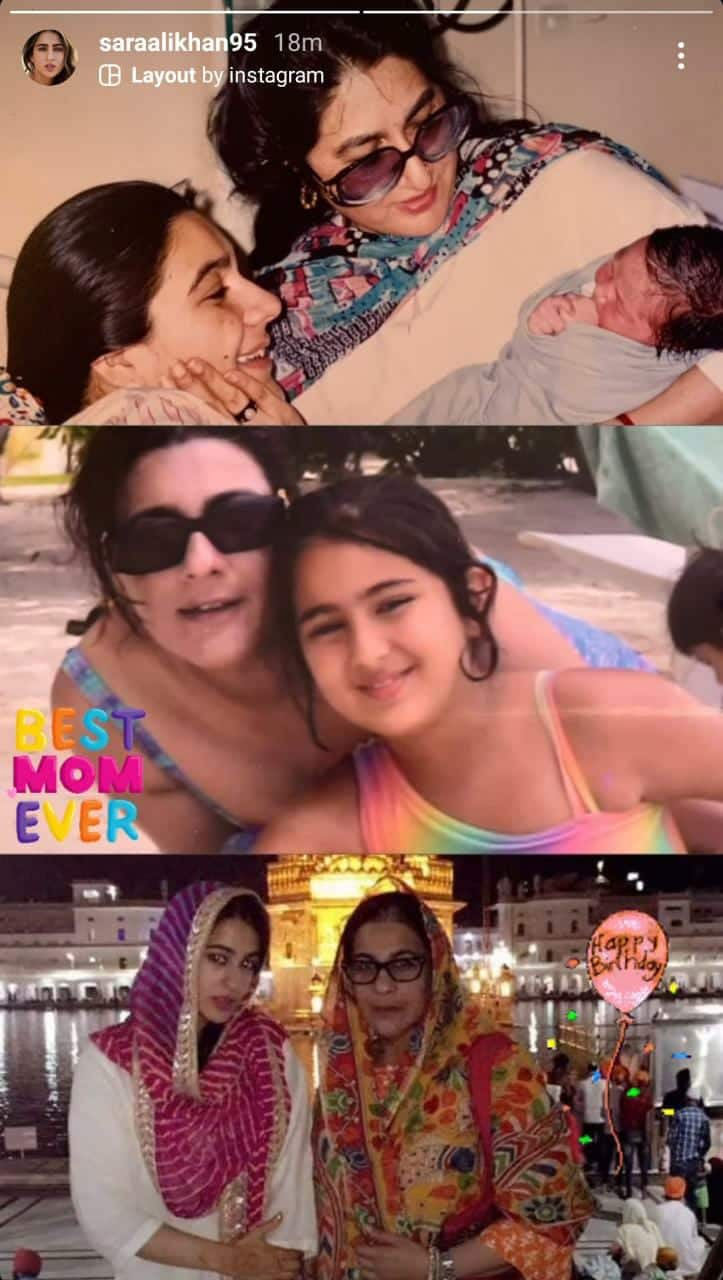 Sara Showers Mommy Amrita With Love On Her Birthday; Alia Spends Quality Time With Her Girls In Maldives