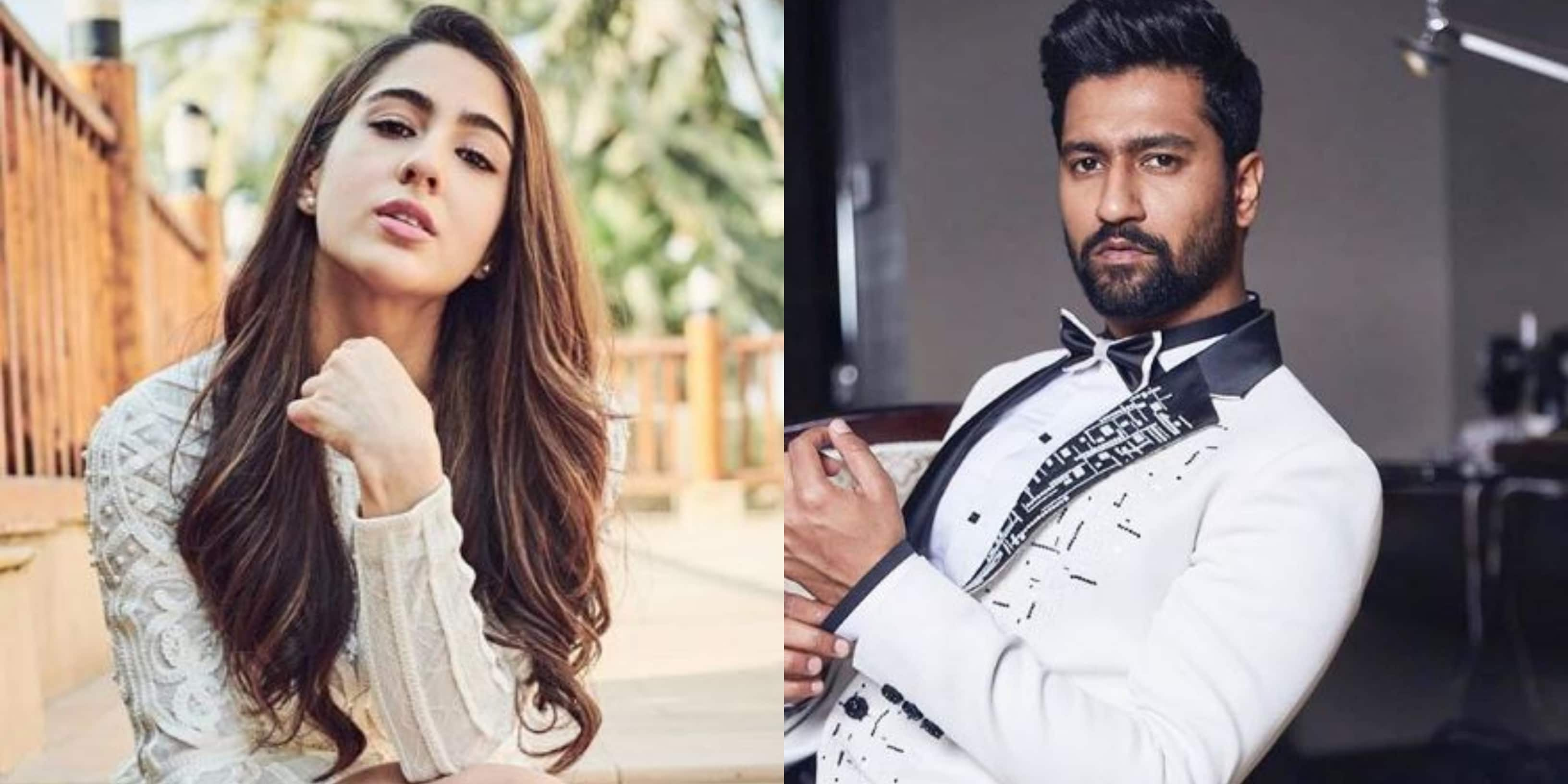 Vicky Kaushal And Sara Ali Khan To Woo Each Other In Anees Bazmee's Next