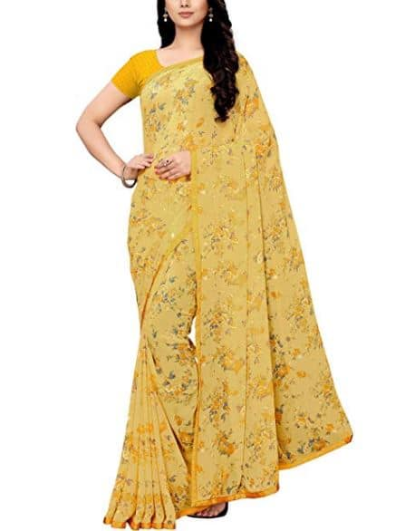 Vidya Balan's Yellow Saree Look Is Perfect For Spreading Some Cheer This Independence Or Rakhi
