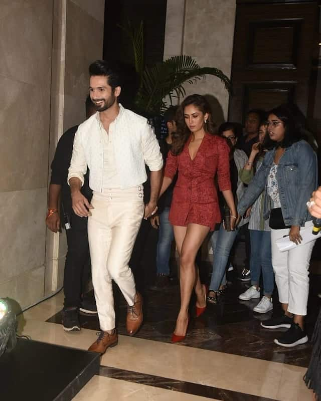 LFW 2019: Shahid Kapoor And Mira Rajput Looks Dapper As They Attend Kunal Rawal's Fashion Show