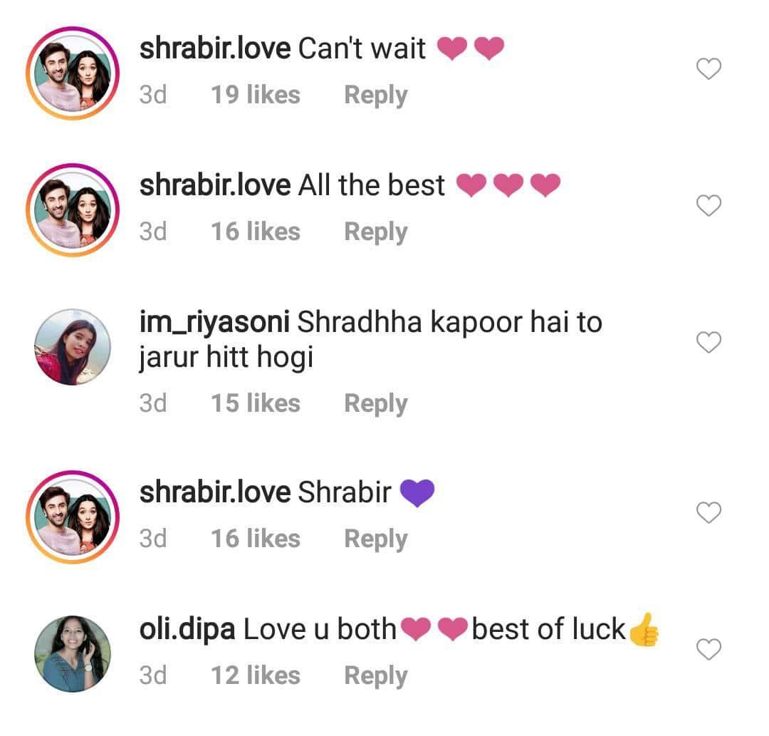 Fans Trend #Shrabir As Shraddha Kapoor & Ranbir Kapoor Kick Start Shoot Of Luv Ranjan's Next