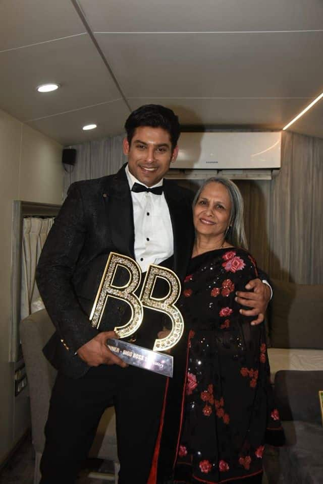 Bigg Boss 13 Winner Sidharth Shukla Is A Mumma's Boy, Calls Her The 'Guiding Force' Of His Life!