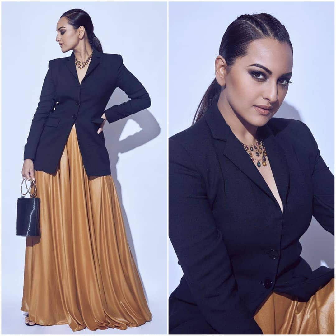Sonakshi Sinha Is Giving A Crash Course On Edgy And Classy Fashion With This Look And You Better Be Taking Notes