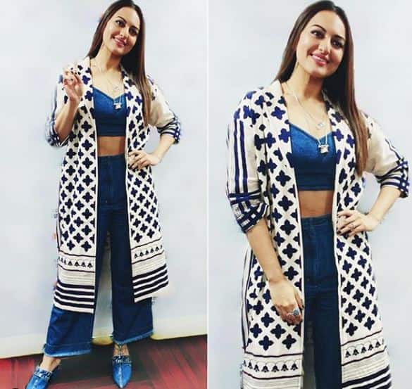 Sonakshi's Sinha Fusion Boho Look Is Begging To Be A Part Of Your Wardrobe