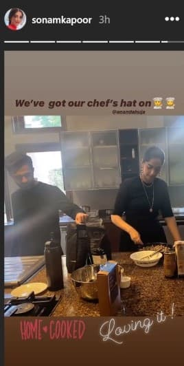 Sara Ali Khan Shares Throwback Fam-Jam Pictures With Ibrahim, Amrita; Sonam-Anand Put On Their Chef Caps