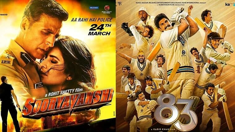 EXCLUSIVE: Coronavirus Curse: Upcoming Bollywood Releases Will Fare Better Only After Diwali, Read To Know Box Office Results Of Sooryavanshi & '83