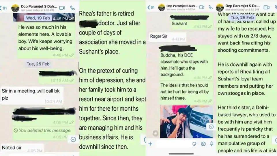 Rhea Chakraborty's Family Was Managing Sushant And His Business, Reads February Complaint By Actor's Family