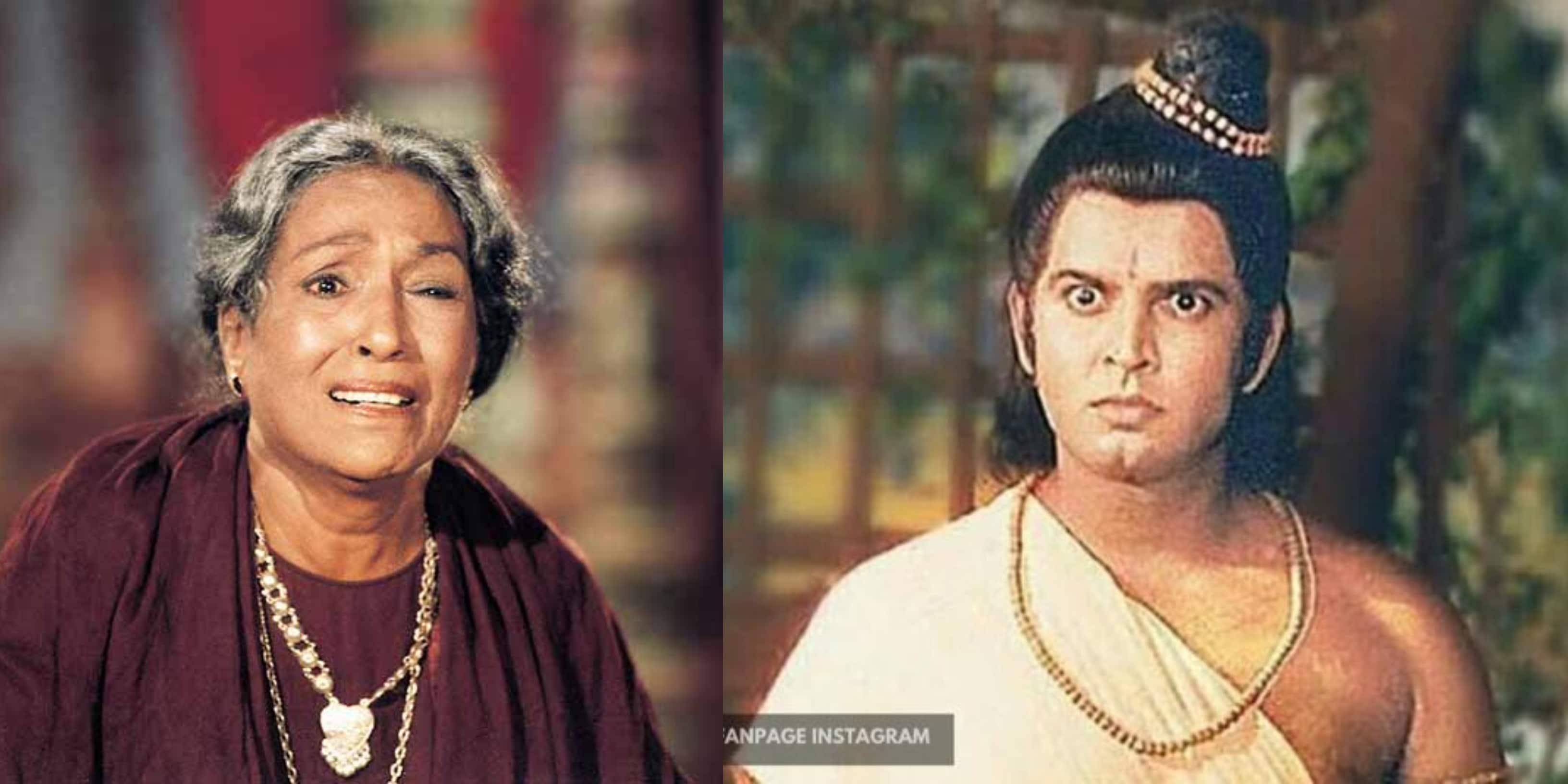 रामायण के लक्ष्मण सुनील लहरी ने बताया कैसे पैर जलने के बाद भी मंथरा ललिता पवार ने की थी शूटिंग