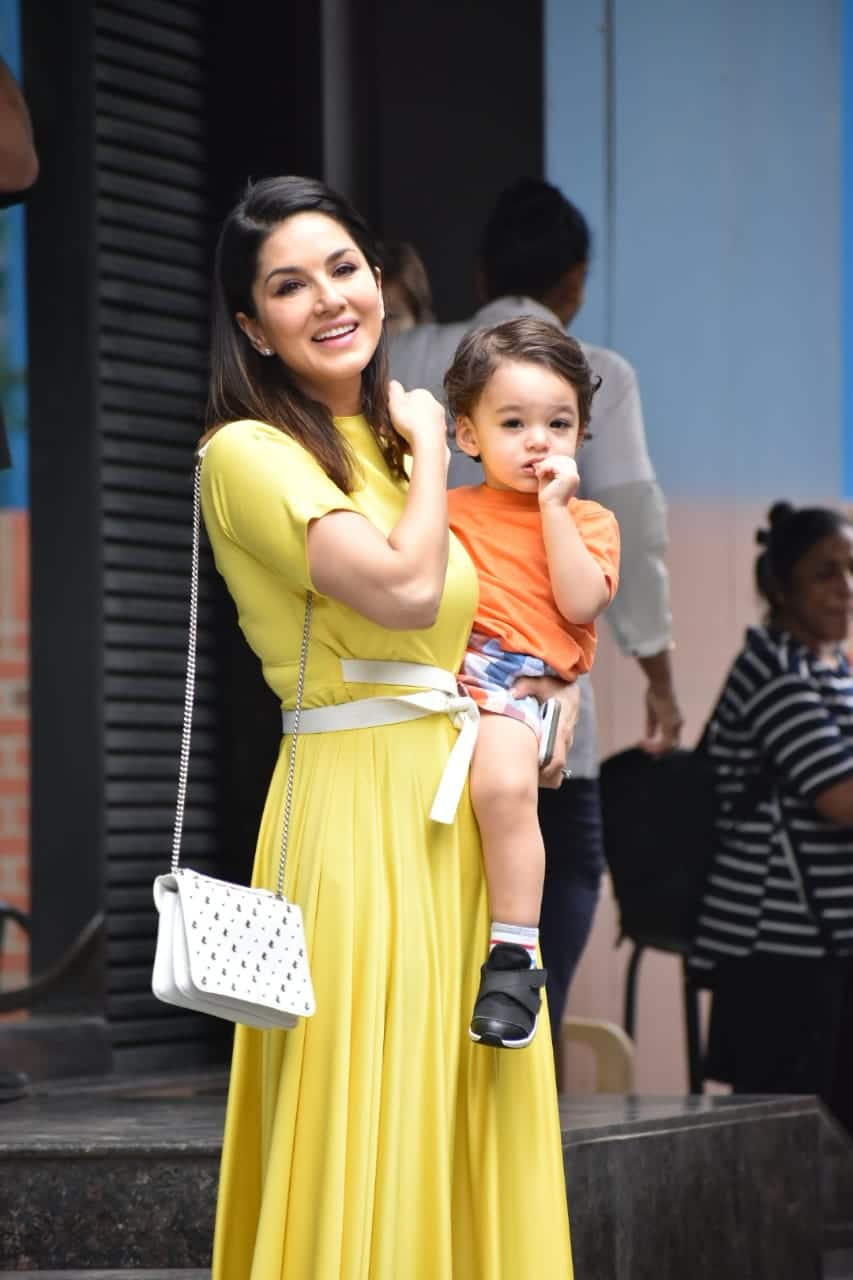 Sunny Leone's Bright Yellow Look Is Perfect For Adding Some Cheer To Your Daily Fashion