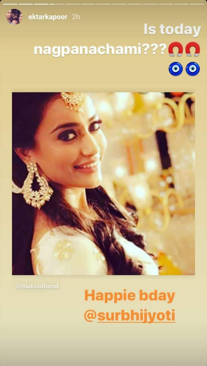 Surbhi Jyoti Rings In 32nd Birthday With Her Naagin 3 Co-Stars; TV Celebs Shower Her With Love