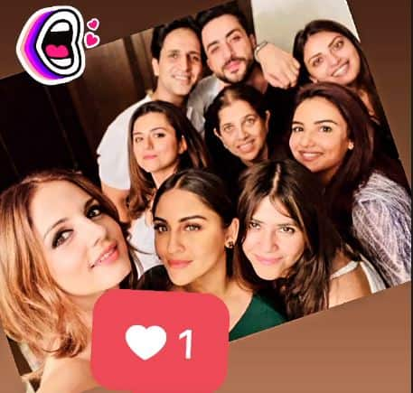 Sussanne Khan Parties With Alleged Boyfriend Arslan Goni, Aly- Jasmin, Ekta Kapoor And Other TV Stars; See Pics...