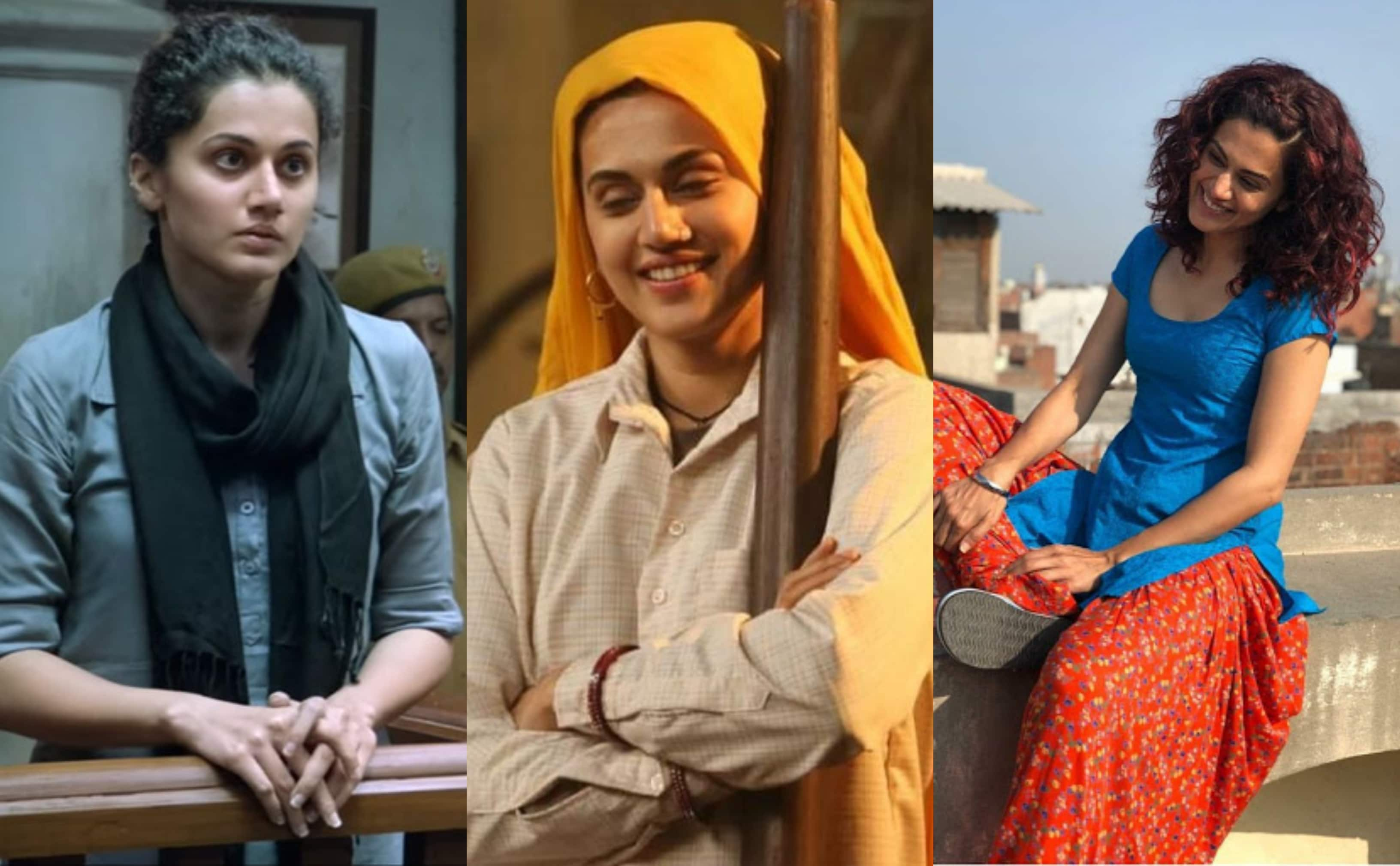 Taapsee Pannu Reveals She Never Dreamt Of Being An Actress; Says 'I Always Thought I Cannot Pretend'