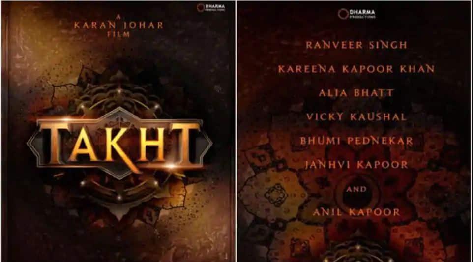 तख़्त: रणवीर सिंह-वोक्की कौशल की फिल्म के लिए करण जौहर ने टी-सीरीज से साइन की बड़ी डील!