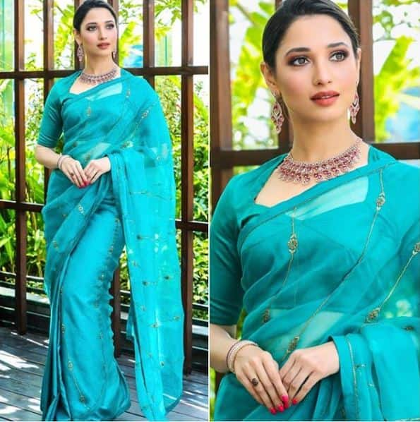 Tamannaah Bhatia's Saree Look Is The Perfect Blend Of  Contemporary Style With Timeless Elegance, Here's How To Get It