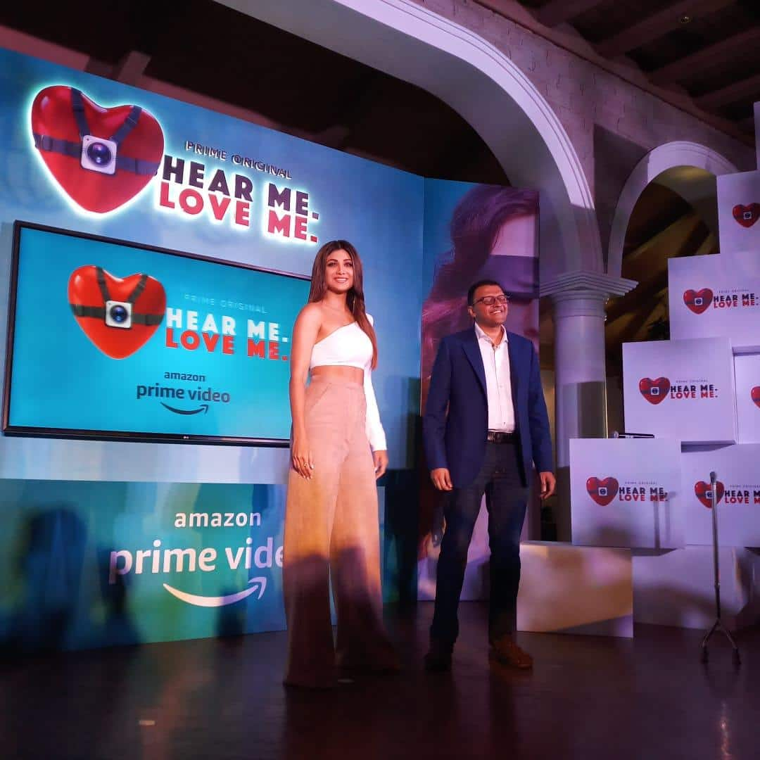 Shilpa Shetty turns mentor for distraught relationships on Amazon Prime's Hear Me. Love Me