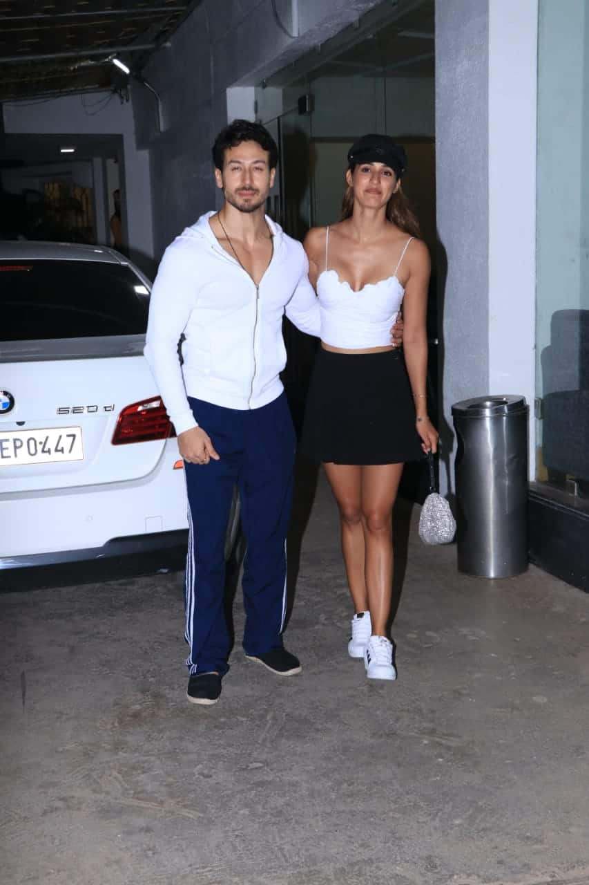 Tiger Shroff, Disha Patani Enjoy A Date Night With A Private Screening Of Student Of The Year 2
