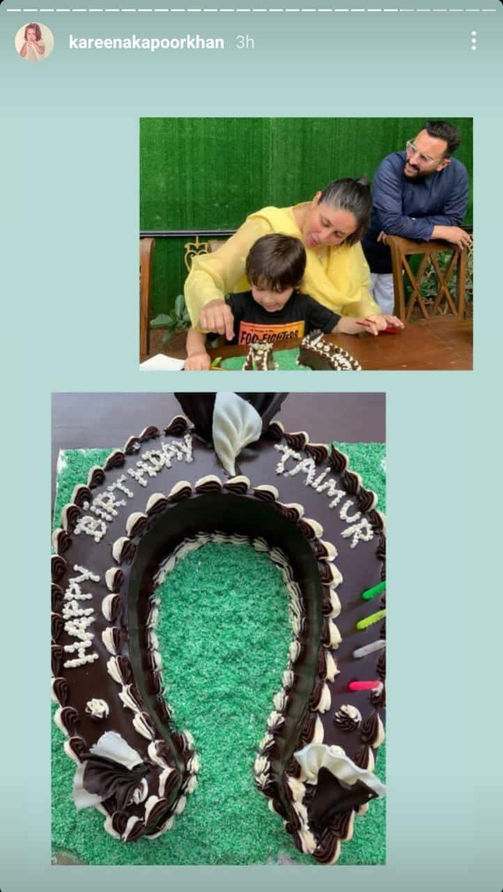 Kareena, Karisma And Soha Share Sneak Peeks From Taimur Ali Khan's Birthday Celebration; Check It Out