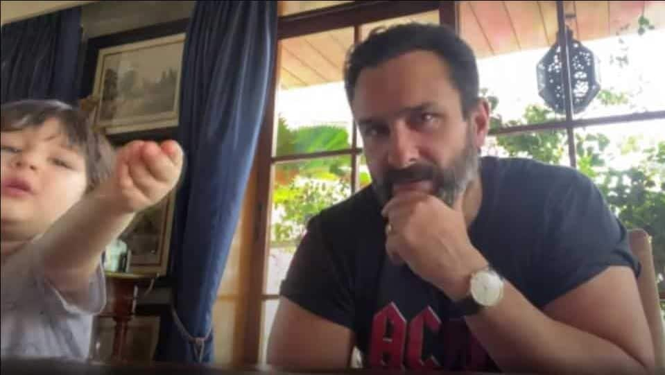 Taimur Makes An Appearance In Another Saif Ali Khan Interview; Virat Kohli Lights Up As Anushka Sharma Checks In On Him