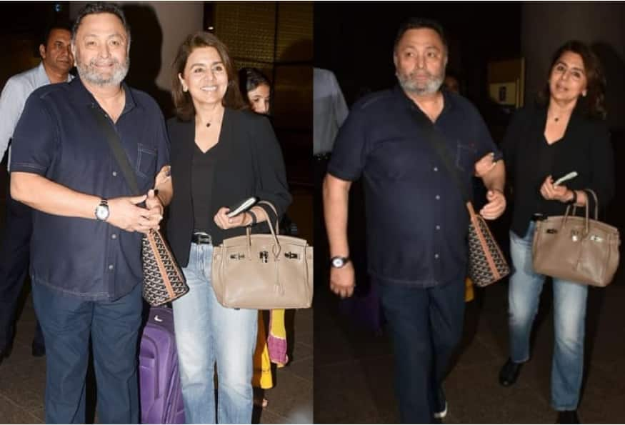 After 11 Months And 11 Days Rishi Kapoor And Neetu Kapoor Are Back To India; See Pics