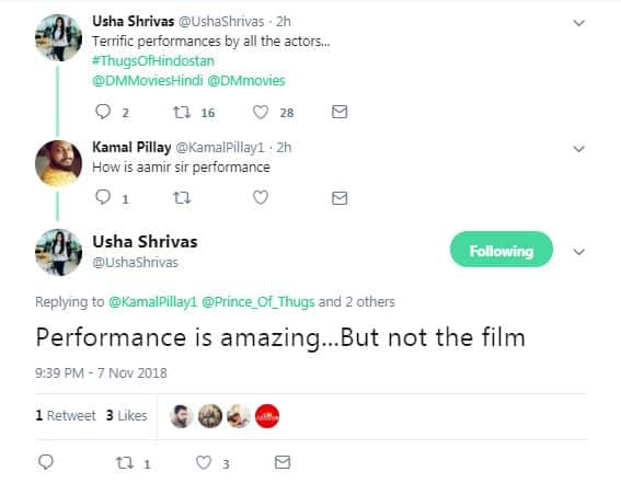 Here Are the First Reviews Of The Thugs Of Hindostan