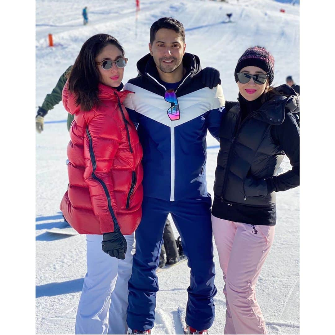 Bollywood Brings Winter Wonderland Alive As They Post Snow Laden Holiday Pictures