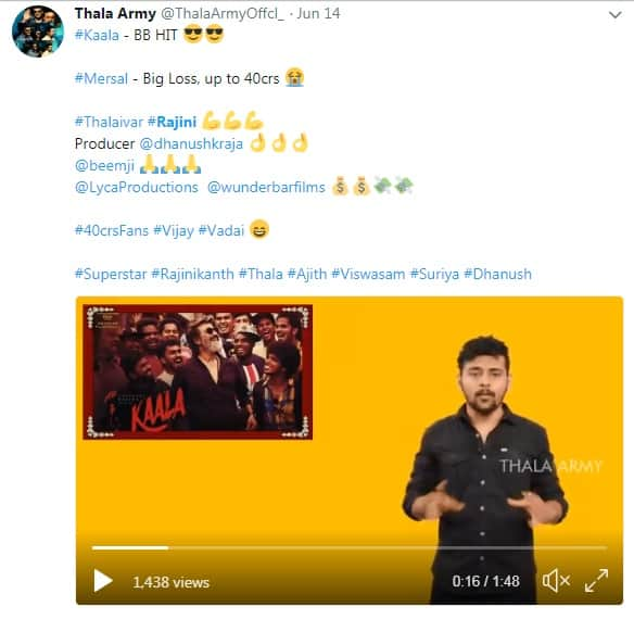 Rajinikanth And Vijay's Fans Fight It Out On Twitter