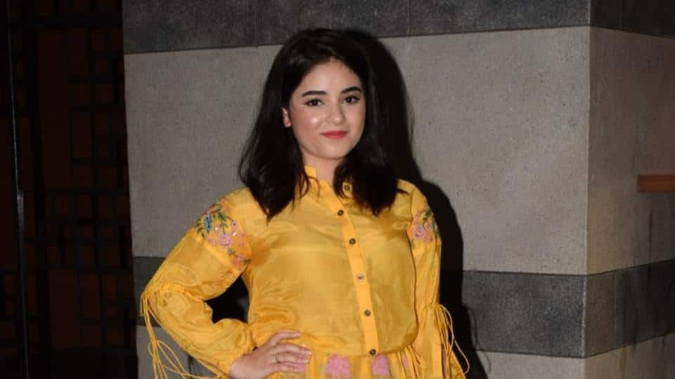 Zaira Wasim Quits Acting, Aamir Khan, Anupam Kher, Raveena Tandon And Many More Bollywood Celebs React