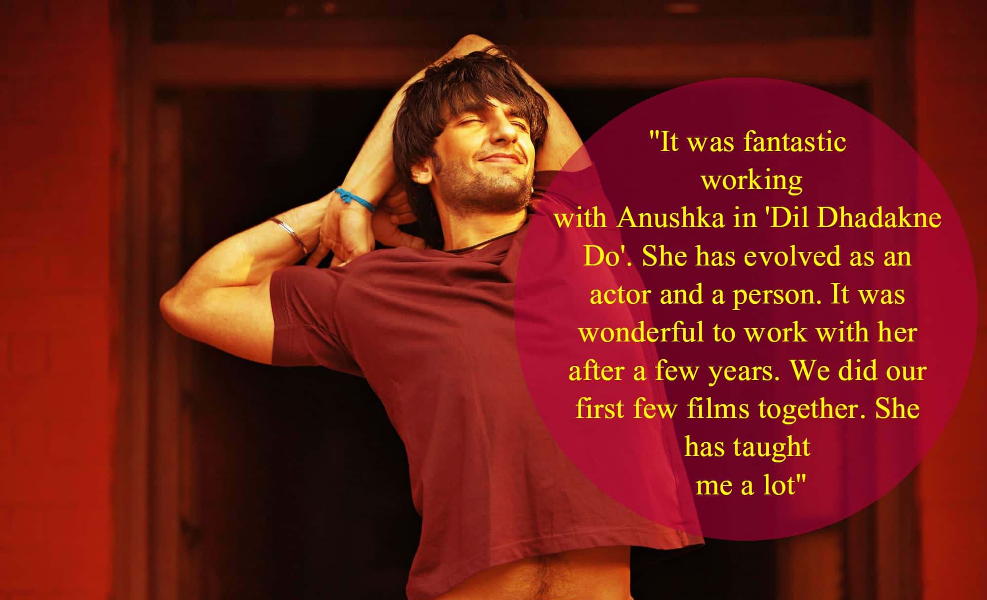 Guess What Ranveer Singh Said About His Alleged Ex Anushka Sharma