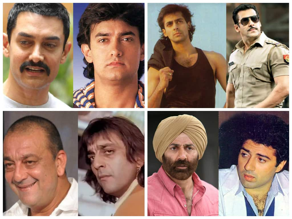 Bollywood Actors -Then and Now