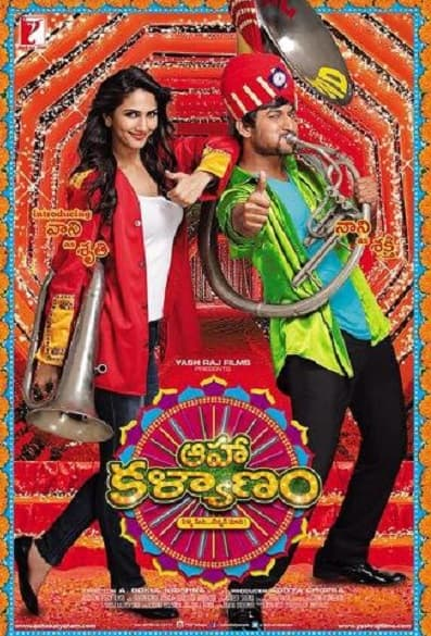 Aaha Kalyanam: First look unveiled, featuring Nani and Vani Kapoor in the lead