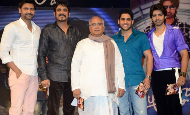 Akkineni Nageswara Rao to create history with son and grandson in Manam