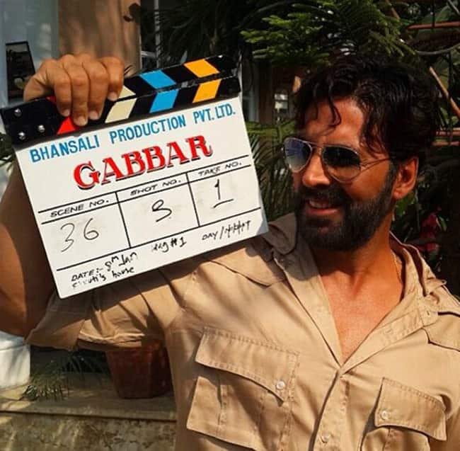 Akshay Kumar In Gabbar Is Back with a Bang