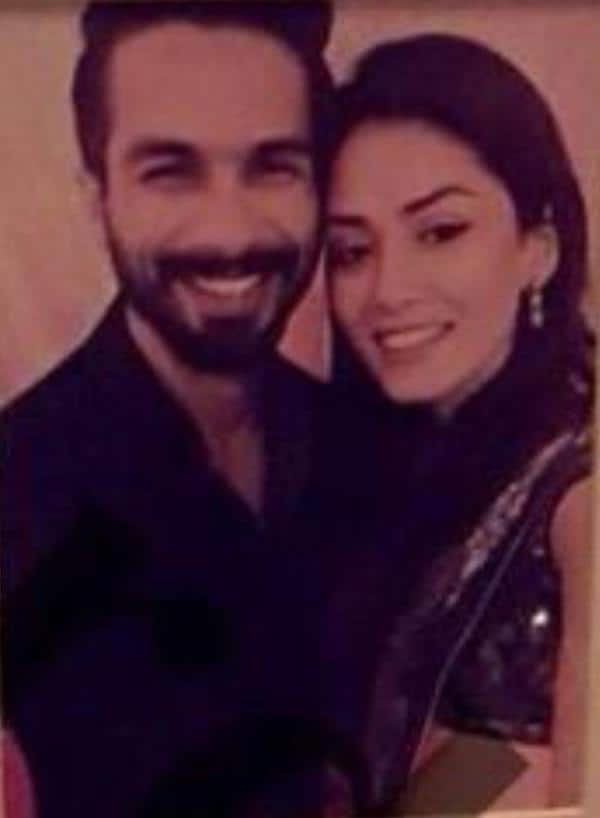 Here's Shahid and Mira's First Couple Photo to Float Online