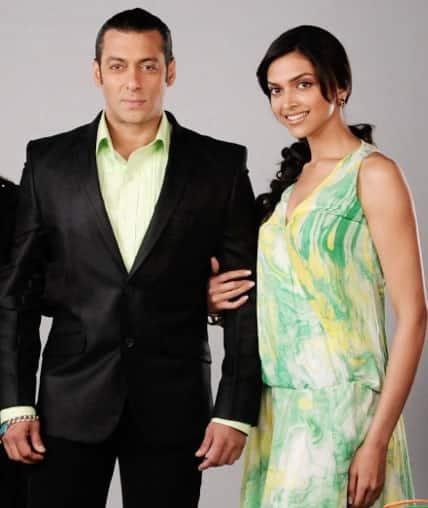 Deepika Padukone pays courtesy visit to Salman Khan while filming Happy New Year