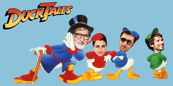 If Bollywood Stars Were Cartoon Characters from the 90s