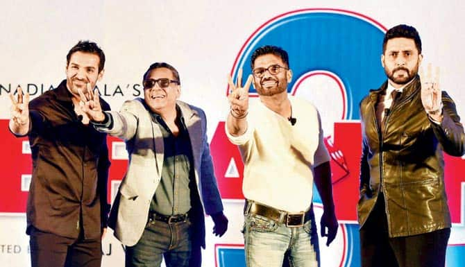 As Abhishek starts shooting for Hera Pheri 3, will he and John be enough to fill in for Akshay?