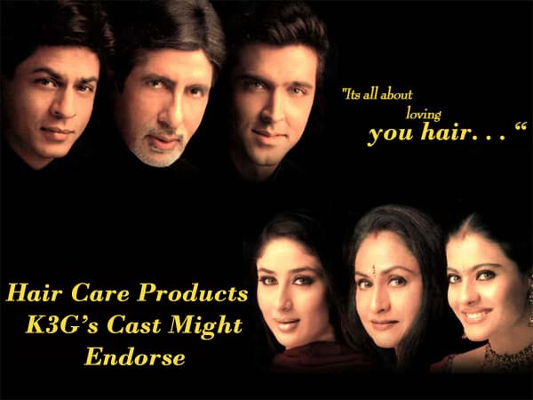 8 Hair Care Products K3G's Cast Might Endorse - DesiMartini