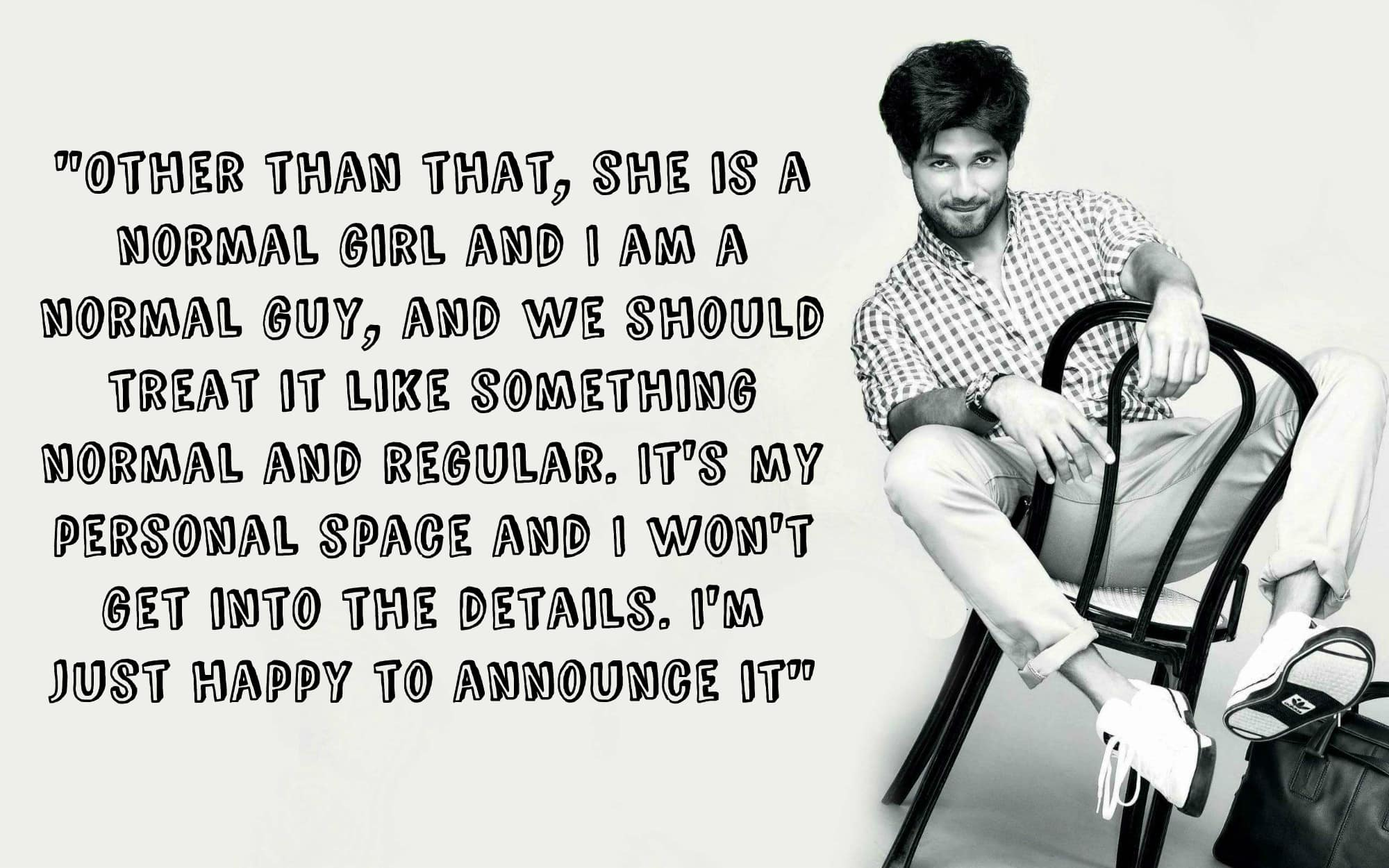 Here's The Full Interview of Shahid Kapoor on Mira Rajput and His Marriage
