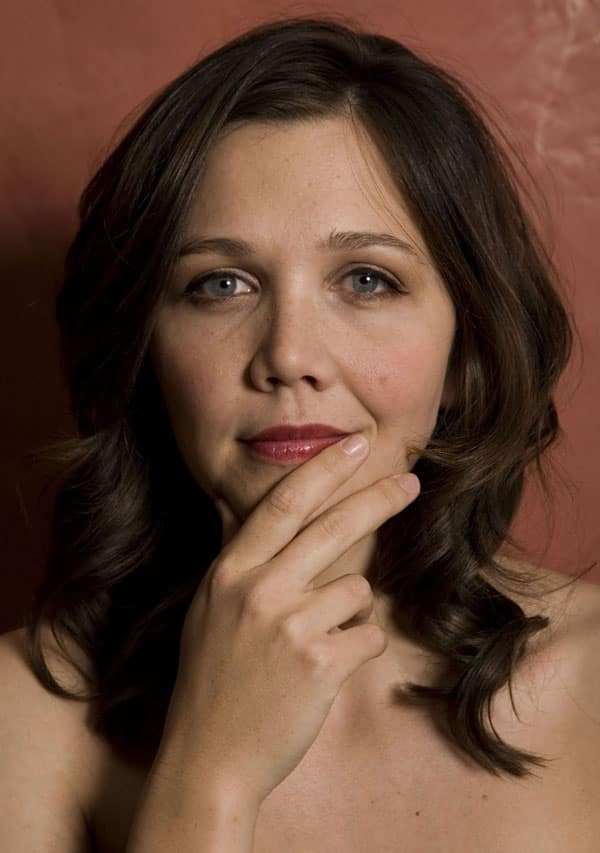 Maggie Gyllenhaal Gets Experimental In Her Latest Fashion