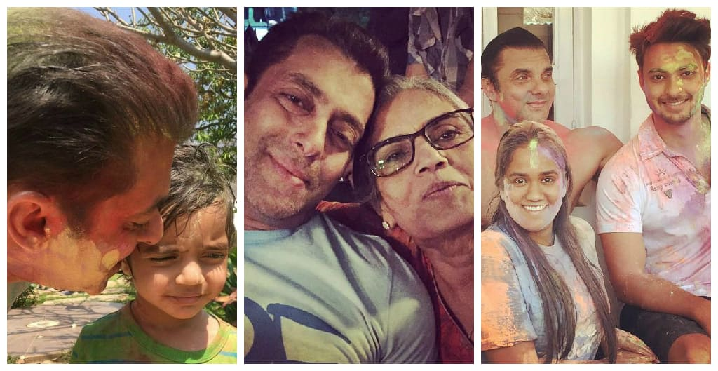 This Is How Your Favourite Bollywood Stars Celebrated Holi