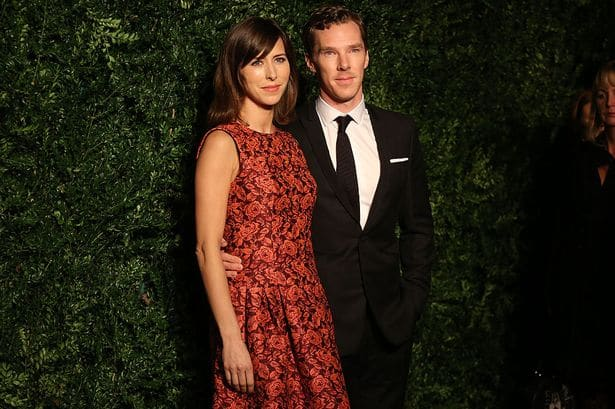 Benedict Cumberbatch to marry Sophie Hunter today !!