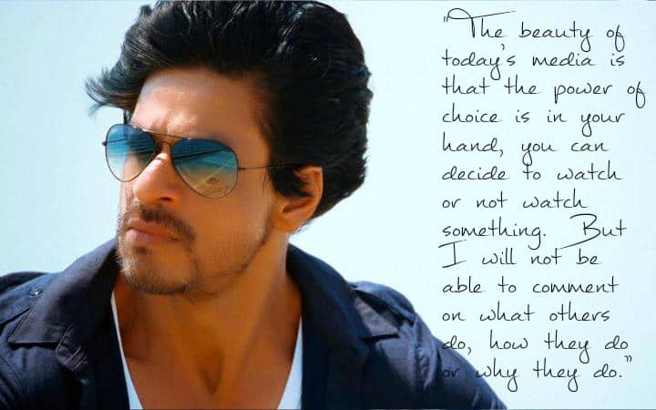 SRK Reacts to the AIB Roast Controversy