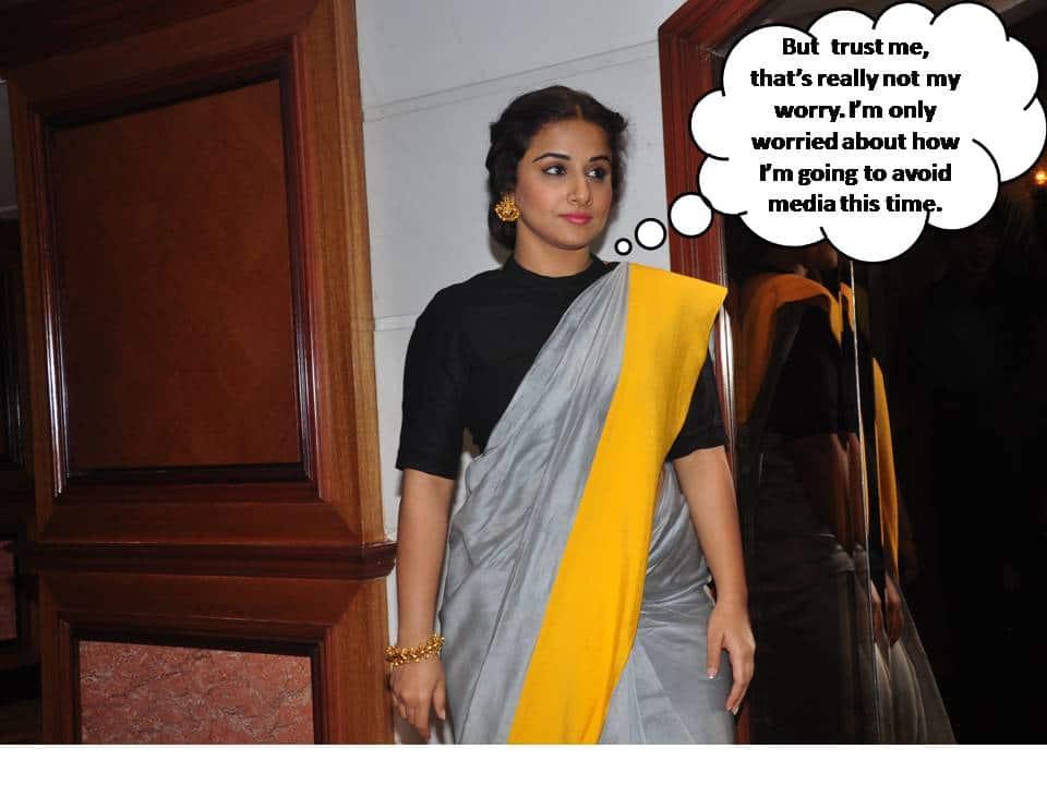 Is Vidya Balan Really Pregnant?