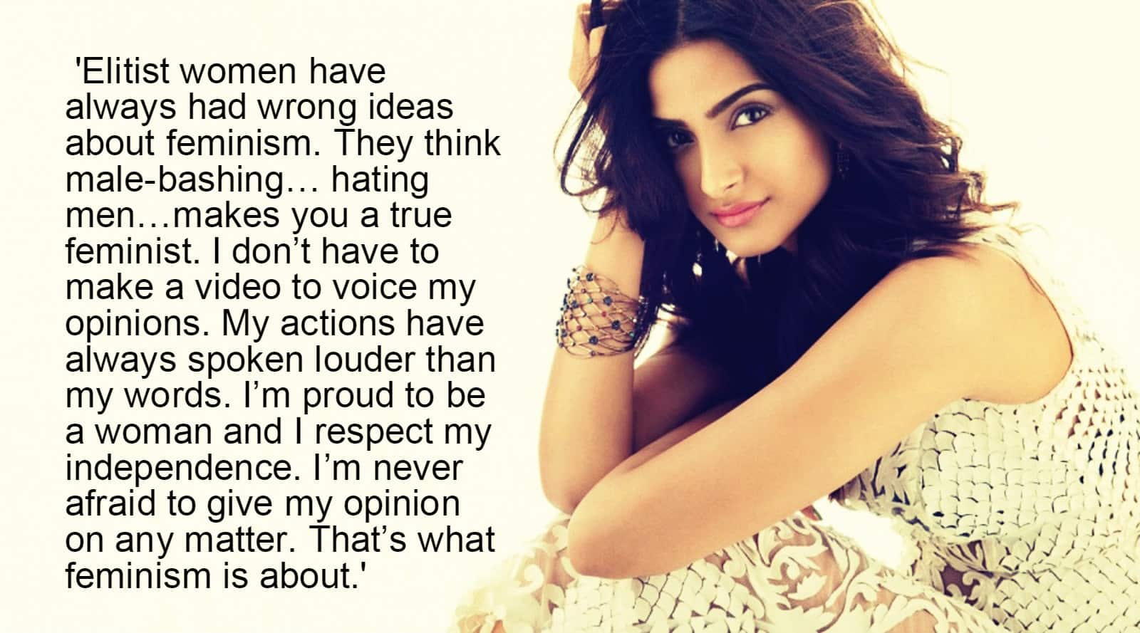 Now it's Sonam Who Bashes Deepika for My Choice Video