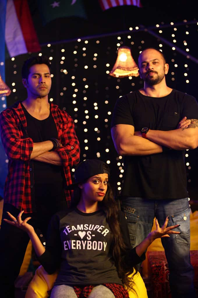Superwoman With the Dilwale Cast