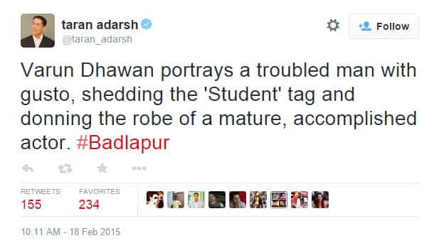 These Guys Watched Badlapur and Loved It!
