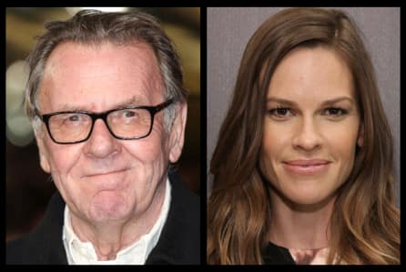 Hilary Swank and Tom Wilkinson to star in Mick Jackson's Denial