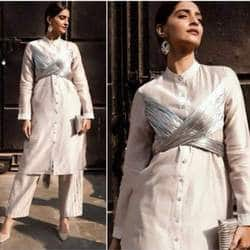 Sonam Kapoor Takes Modern Indian Wear To A New Level With This Chic Look!