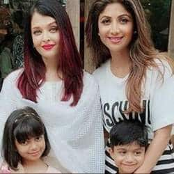 In Pics and Video: Shilpa Shetty's Son Viaan Thoroughly Enjoys His Birthday Party